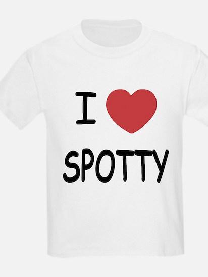 I heart SPOTTY T-Shirt