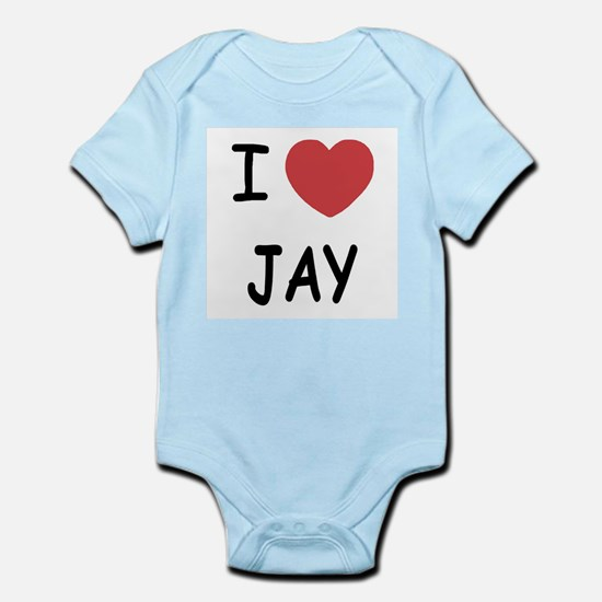 I heart JAY Infant Bodysuit