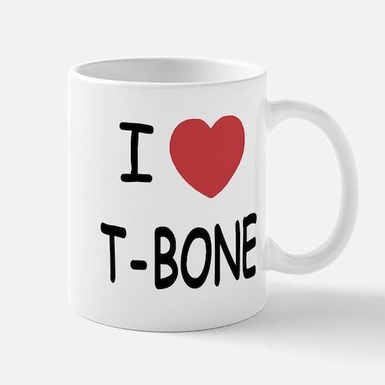 I heart T-BONE Mug