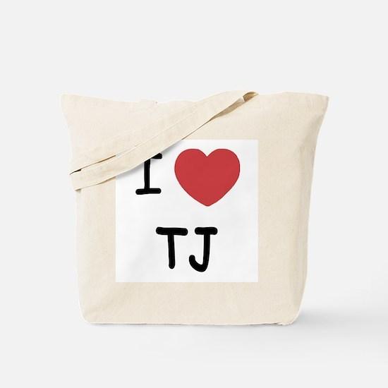 I heart TJ Tote Bag