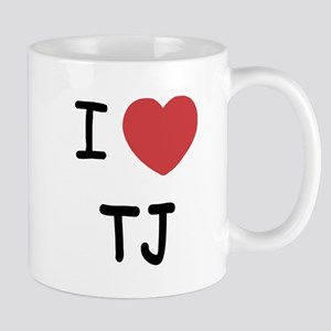 I heart TJ Mug