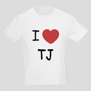 I heart TJ Kids Light T-Shirt