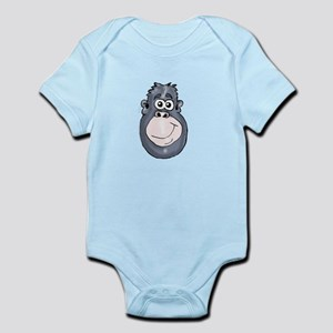 Cartoon Ape Infant Bodysuit