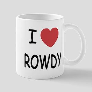 I heart ROWDY Mug