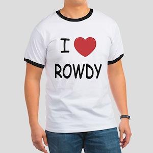 I heart ROWDY Ringer T