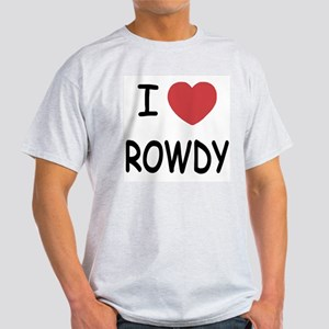 I heart ROWDY Light T-Shirt