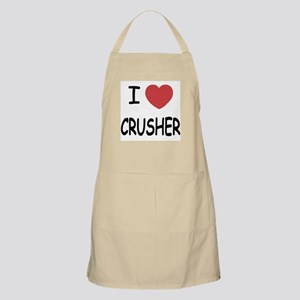 I heart CRUSHER Apron