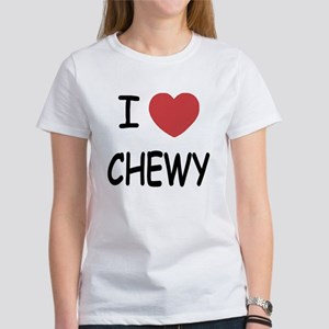 I heart CHEWY Women's T-Shirt