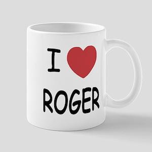 I heart ROGER Mug