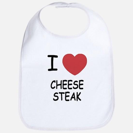 I heart cheesesteak Bib