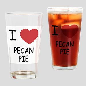I heart pecan pie Drinking Glass
