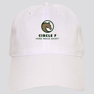 Circle F logo Cap in white or khaki