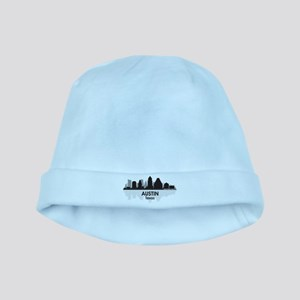 Austin Texas Skyline baby hat