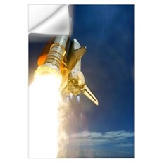 Shuttle mission STS-121 launch, July 2006 Wall Decal