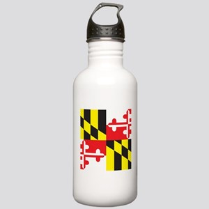 Maryland Flag Stainless Water Bottle 1.0L
