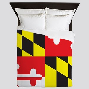 Maryland Flag Queen Duvet