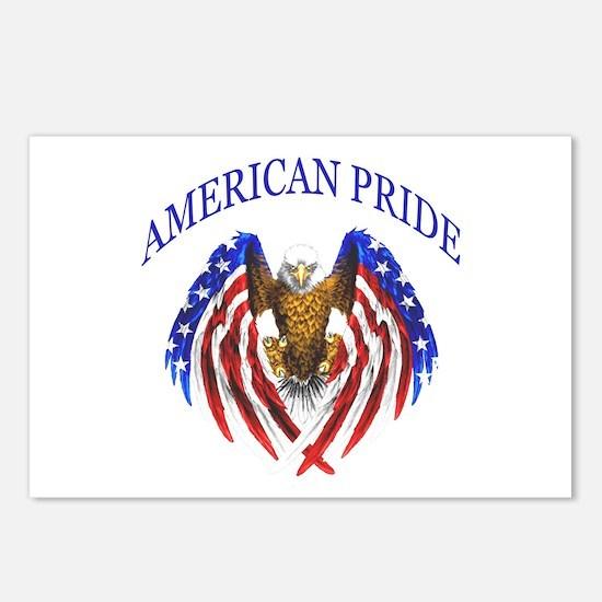 American Pride Eagle Postcards (Package of 8)