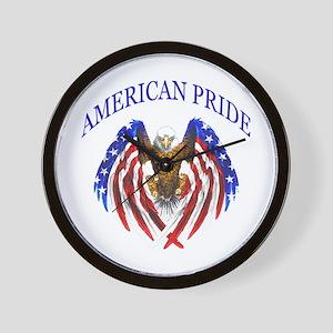 American Pride Eagle Wall Clock