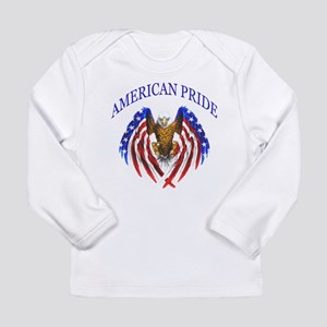 American Pride Eagle Long Sleeve Infant T-Shirt