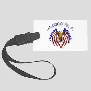 American Pride Eagle Large Luggage Tag
