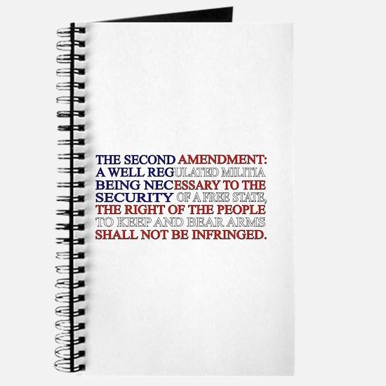 Second Amendment Flag Journal