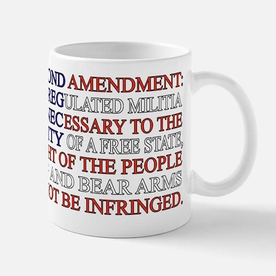 Second Amendment Flag Mug
