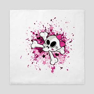 Girlie Skull Queen Duvet