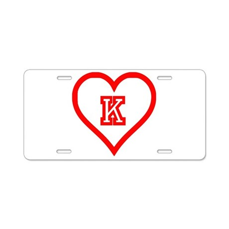 Kappa Sweet Aluminum License Plate