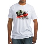 B is for Burpees Fitted T-Shirt