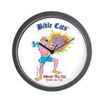 BIBLE CATS Wall Clock