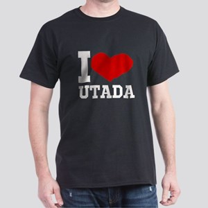 I Love Utada Dark T-Shirt