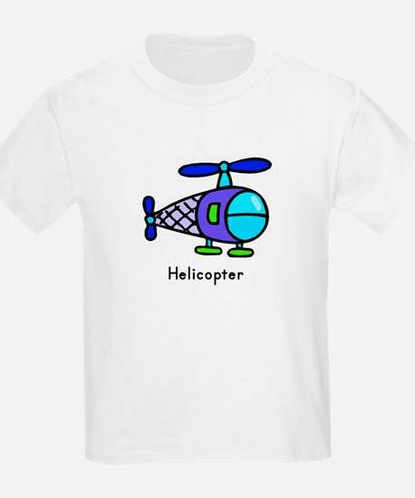 Helicopter Flashcard Tee
