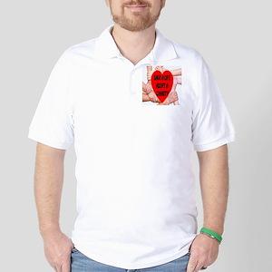 Save A Life Adopt A Charity Golf Shirt