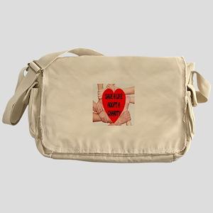 Save A Life Adopt A Charity Messenger Bag