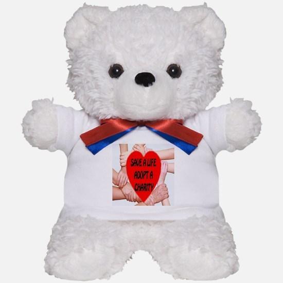 Save A Life Adopt A Charity Teddy Bear