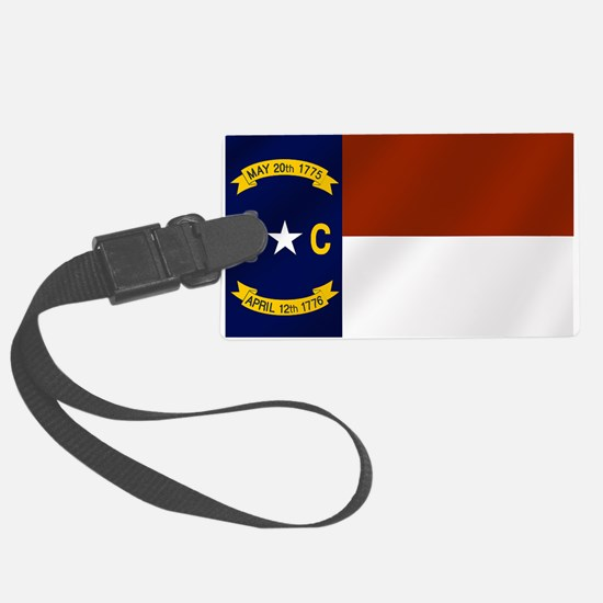 North Carolina Flag Luggage Tag