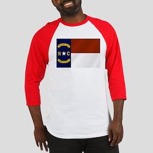 North Carolina Flag Baseball Jersey