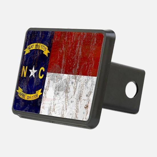 North Carolina Retro Flag Hitch Cover