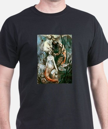 MERMAIDS AND DIVER.psd T-Shirt