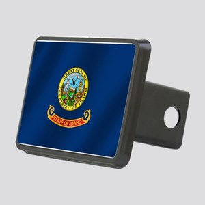 Idaho State Flag Rectangular Hitch Cover