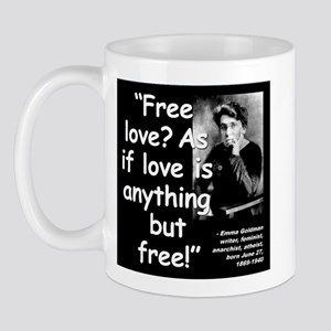 Goldman Love Quote 2 Mug