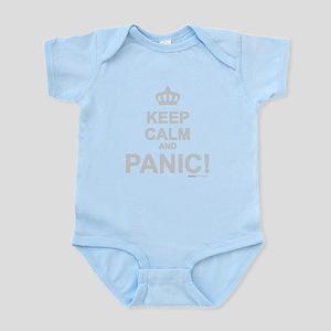 Keep Calm And Panic Infant Bodysuit