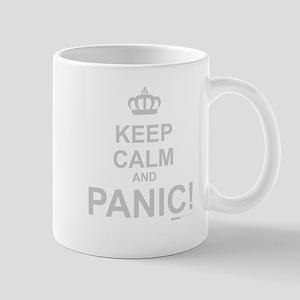 Keep Calm And Panic Mug