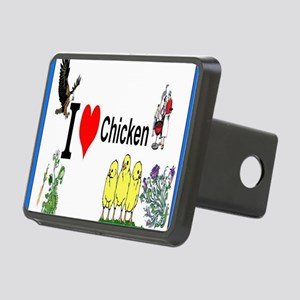Chicken Rectangular Hitch Cover