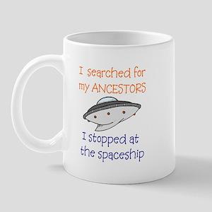 Genealogy Spaceship Mug