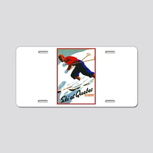 Canada Travel Poster 11 Aluminum License Plate