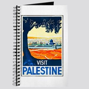 Palestine Travel Poster 1 Journal