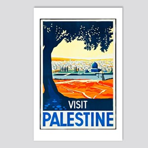 Palestine Travel Poster 1 Postcards (Package of 8)