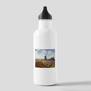 Monet Fields Of Tulip Stainless Water Bottle 1.0L