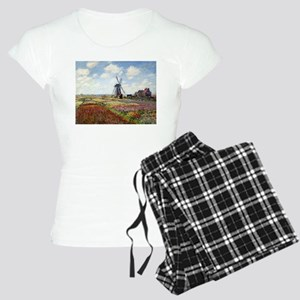 Monet Fields Of Tulip Women's Light Pajamas